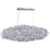 Dazed 12 Light 46 inch Polished Chrome Pendant Ceiling Light