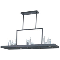 ET2 Pandora 22 Light Chandelier in Black E22587-77BK