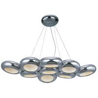 ET2 E22599-PC Donuts LED 29 inch Polished Chrome Chandelier Ceiling Light