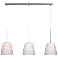 ET2 Slate 3 Light Island Pendant in Satin Nickel E22603-76 photo thumbnail