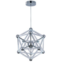 ET2 Polygon 60 Light Single Pendant in Polished Chrome E22612-91PC