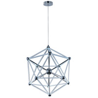 ET2 Polygon 60 Light Single Pendant in Polished Chrome E22616-91PC
