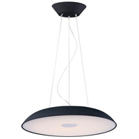 ET2 E22626-BK Dimple LED 30 inch Black Single Pendant Ceiling Light