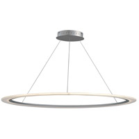 ET2 E22657-11MS Saturn II LED 51 inch Matte Silver Entry Foyer Pendant Ceiling Light