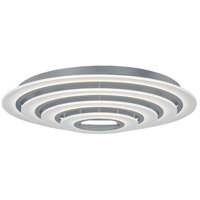ET2 E22668-11MS Saturn II LED 40 inch Matte Silver Flush Mount Ceiling Light