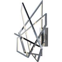 ET2 E22674-PC Trapezoid LED 20 inch Polished Chrome Wall Sconce Wall Light