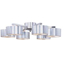 ET2 Percussion 12-Light Flush Mount in Polished Chrome E22706-77 photo thumbnail