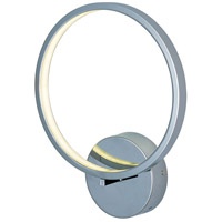 ET2 Lighting Hoops LED 1 Light Wall Sconce in Polished Chrome E22710-PC