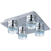 ET2 Fizz II 4 Light Flush Mount in Polished Chrome E22742-91PC photo thumbnail