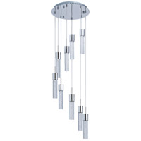 ET2 Fizz II 9 Light Pendant in Polished Chrome E22749-91PC