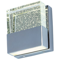 ET2 E22755-89PC Fizz III 2 Light 5 inch Polished Chrome Bath Vanity Wall Light in Bubble, 5 in. photo thumbnail