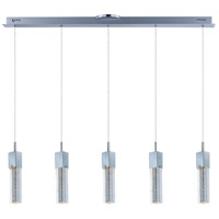Fizz III LED 39 inch Polished Chrome Linear Pendant Ceiling Light