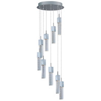ET2 Fizz III 9 Light LED Pendant in Polished Chrome E22769-89PC