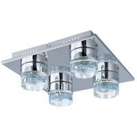 ET2 E22772-91PC Fizz IV LED 13 inch Polished Chrome LED Flush Mount Ceiling Light