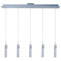 Fizz IV LED 39 inch Polished Chrome LED Pendant Ceiling Light