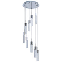 ET2 Fizz IV 9 Light LED Pendant in Polished Chrome E22779-91PC