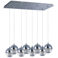 Reflex LED 26 inch Polished Chrome Island Pendant Ceiling Light