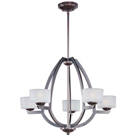 ET2 Vortex 5 Light Pendant in Oil Rubbed Bronze E22805-09OI