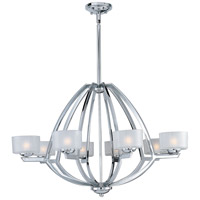 Vortex 8 Light 35 inch Polished Chrome Pendant Ceiling Light