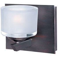 ET2 Vortex 1 Light Wall Sconce in Oil Rubbed Bronze E22811-09OI