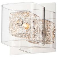 Gem 1 Light 5 inch Polished Chrome Wall Sconce Wall Light