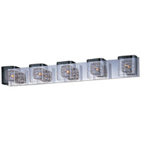 ET2 Gem 5 Light Bath Light in Polished Chrome E22835-18PC