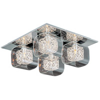 ET2 Gem 4 Light Flush Mount in Polished Chrome E22838-18PC