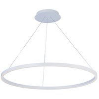 ET2 Lighting Cirque 1 Light Foyer Pendant in Matte White E22845-MW