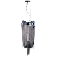 Mystic 6 Light 14 inch Black Chrome Pendant Ceiling Light