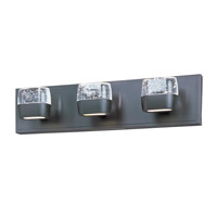 Volt LED LED 21 inch Bronze Bath Light Wall Light in 21 in.,  6 Light