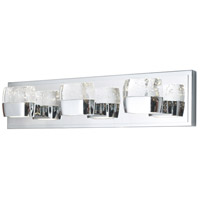 ET2 E22893-89PC Volt LED 21 inch Polished Chrome Bath Vanity Wall Light in 21 in.,  6 Light