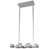 Volt LED 24 inch Polished Chrome Multi-Light Pendant Ceiling Light