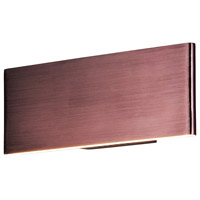 ET2 E22900-BRZ Blade LED 13 inch Anodized Bronze ADA Wall Sconce Wall Light