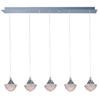 Blossom 5 Light 6 inch Polished Chrome Pendant Ceiling Light