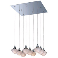 ET2 Blossom 9 Light Pendant in Polished Chrome E23006-20PC