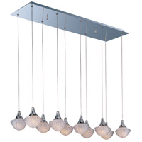 Blossom 10 Light 11 inch Polished Chrome Pendant Ceiling Light