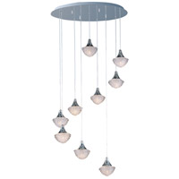 Blossom 9 Light 22 inch Polished Chrome Pendant Ceiling Light