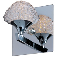 ET2 E23011-20PC Blossom 1 Light 6 inch Polished Chrome Bath Light Wall Light in 6 in.