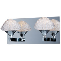 ET2 Blossom 2 Light Bath Light in Polished Chrome E23012-20PC
