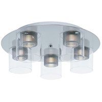 ET2 Cyborg 5 Light Flush Mount in Polished Chrome E23062-18PC