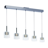 ET2 Cyborg 5 Light Pendant in Polished Chrome E23065-18PC