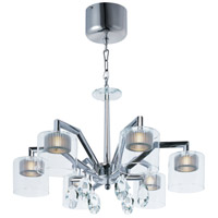 ET2 E23067-18PC Cyborg LED 25 inch Polished Chrome Chandelier Ceiling Light
