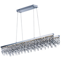 Midnight Shower LED 10 inch Polished Chrome Single Pendant Ceiling Light