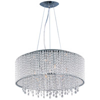 ET2 Spiral 10 Light Pendant in Polished Chrome E23137-10PC