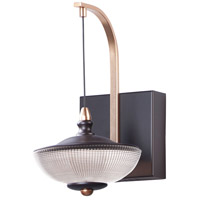 ET2 E23159-126BRZGLD Bella LED 8 inch Bronze and Gold Wall Sconce Wall Light