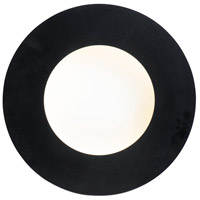 Black and White Orbital Wall Sconces