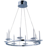 ET2 Circolo 8 Light Pendant in Polished Chrome E23183-20PC