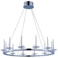 ET2 Circolo 12 Light Pendant in Polished Chrome E23184-20PC photo thumbnail