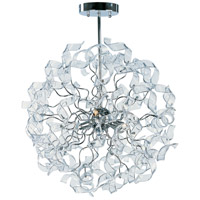 Zest 4 Light 16 inch Polished Chrome Single Pendant Ceiling Light