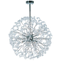 ET2 Zest 8 Light Multi-Light Pendant in Polished Chrome E23195-24PC